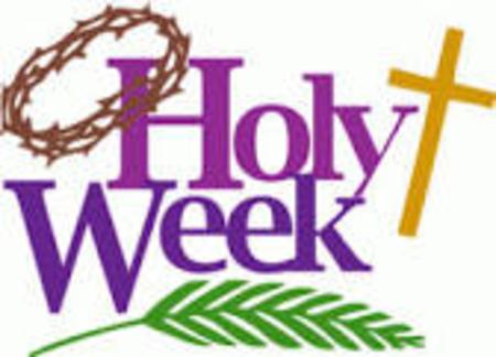 Start of holy week